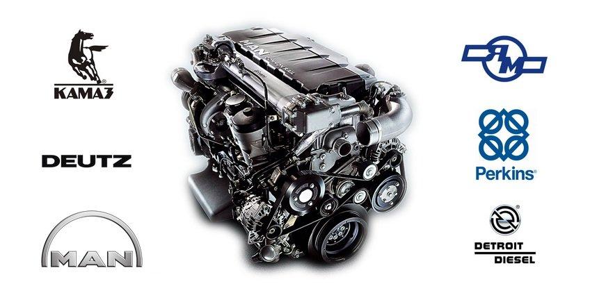 двигатель грузового автомобиля