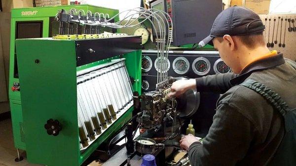 ремонт топливной аппаратуры renault