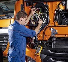 Ремонт электрики грузовых авто
